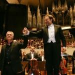 Gewandhausorchester Leipzig und Komponist Bernd Franke